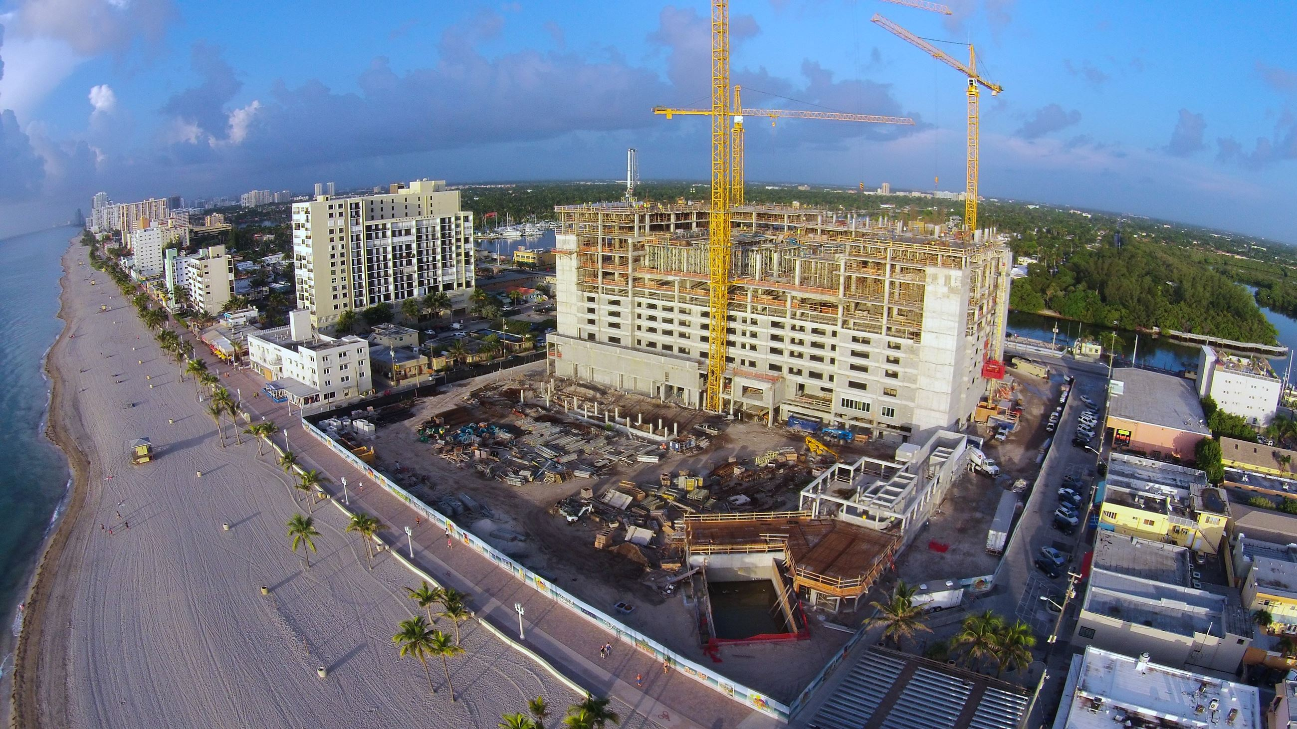 Margaritaville Construction Phase