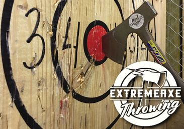 Extreme Axe Throwing Open