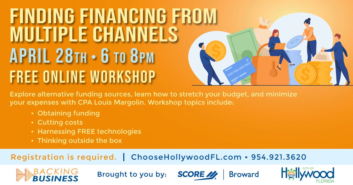 Finding Financing From Mutliple Channels.